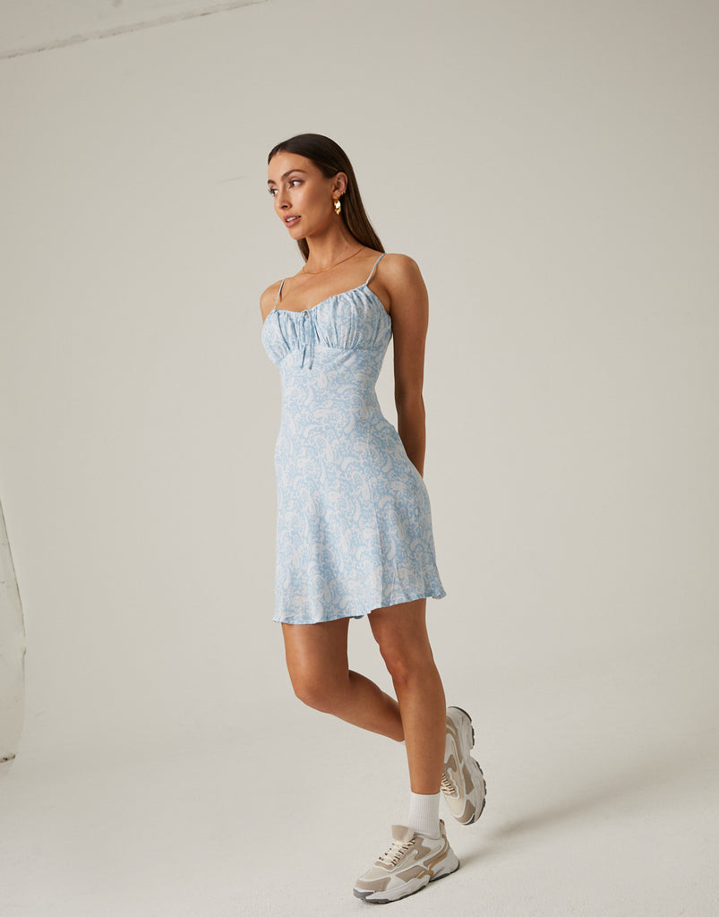 Paisley Mini Summer Dress Dresses -2020AVE