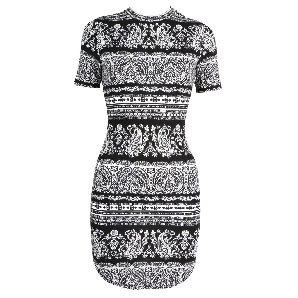 Paisley Printed Dress - 2020AVE