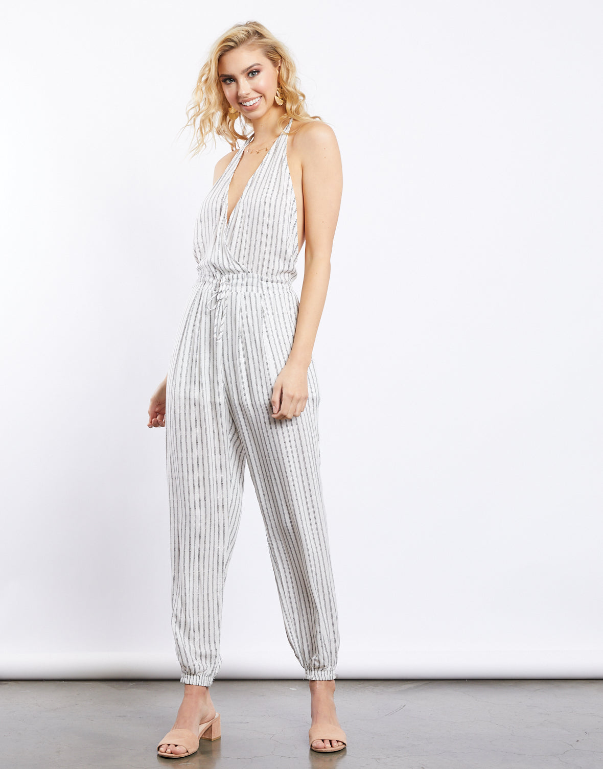 Parallel Lines Jumpsuit