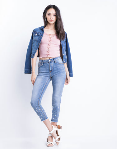 Pearl Ankle Jeans