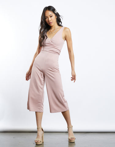 Picnic Party Wide Legs Jumpsuit