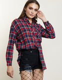 Plaid and Simple Flannel Shirt