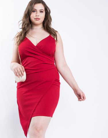 Plus Size GNO Asymmetrical Dress