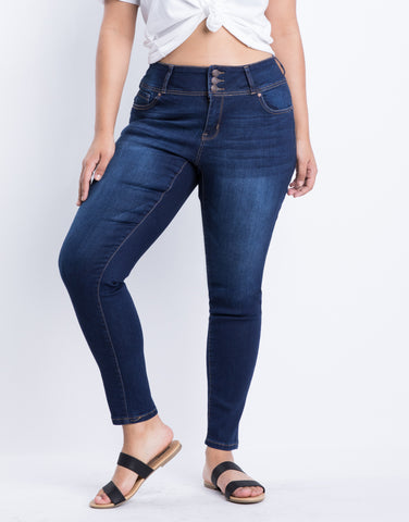 The Plus Size Go-To Skinny Jeans
