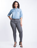 Plus Size Polished Polka Dot Pants