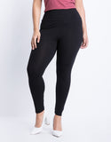Plus Size Simple Stretch Leggings