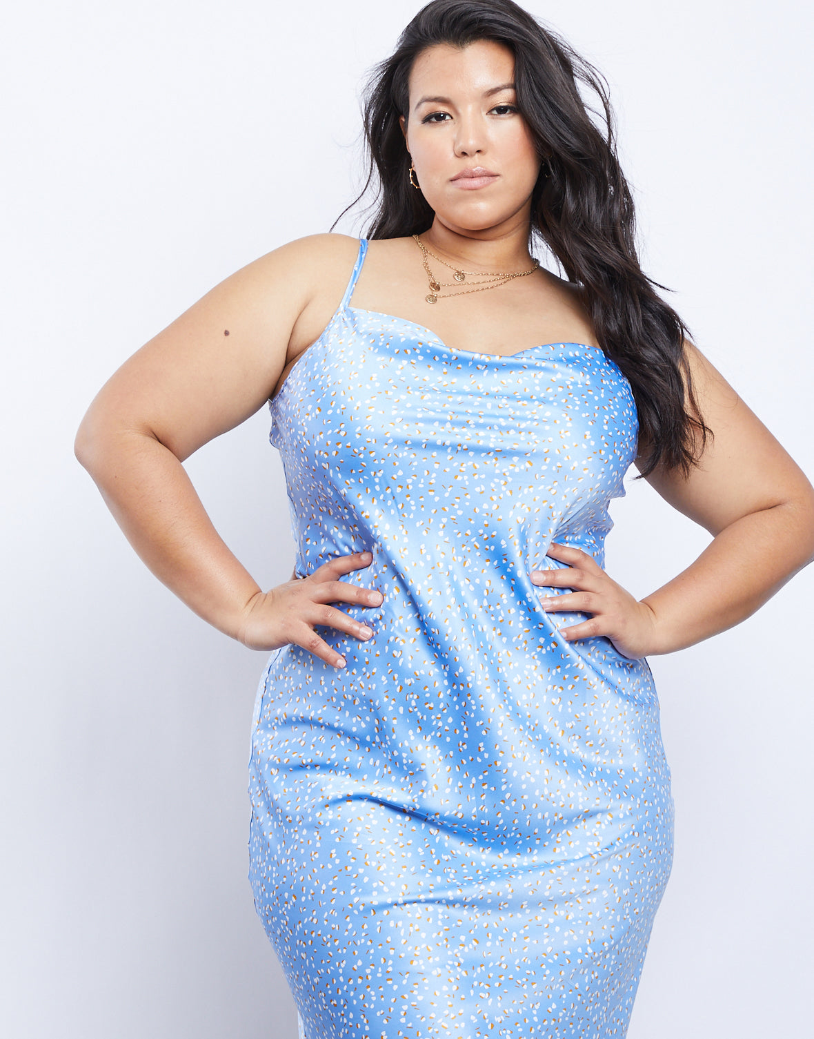 Plus Size Alexcina Slip Dress