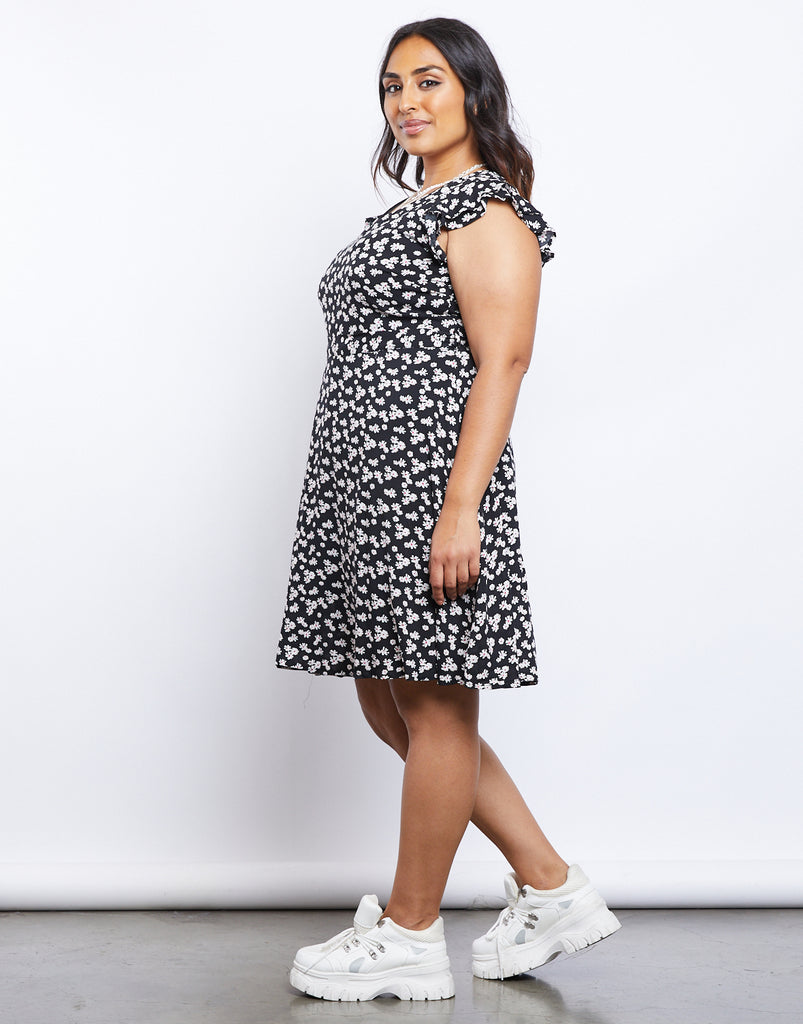 Curve Blooming Sundress Plus Size Dresses -2020AVE