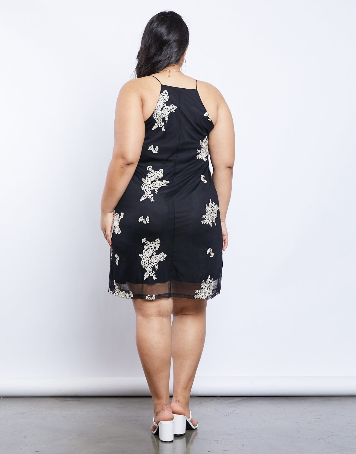 Plus Size Emily Slip Dress