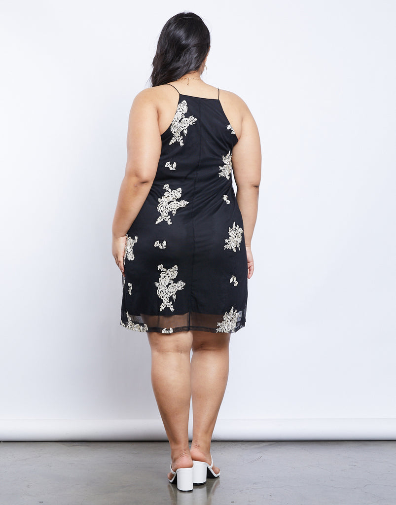 Curve Emily Slip Dress Plus Size Dresses -2020AVE