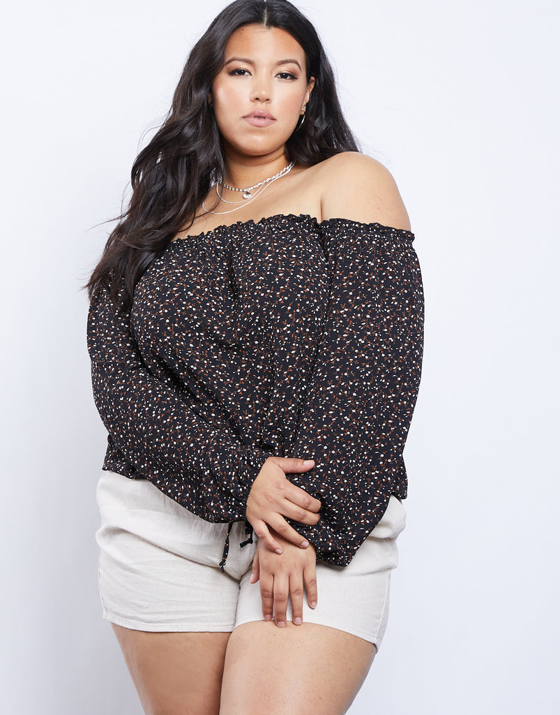 Curve Kendall Top Plus Size Tops -2020AVE