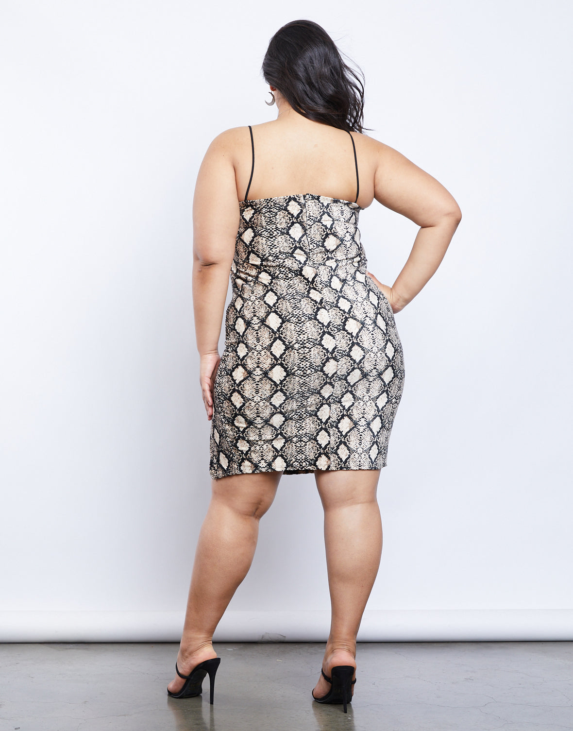 Plus Size Medusa Dress