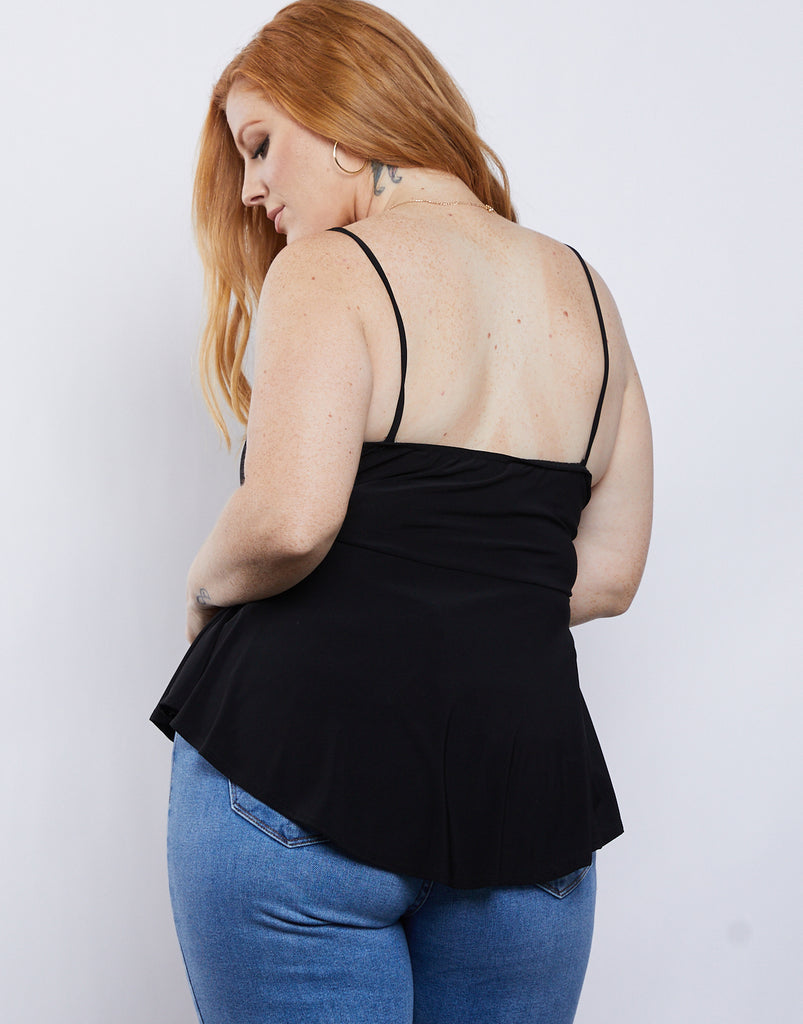 Curve Twist of Fate Tank Plus Size Tops -2020AVE
