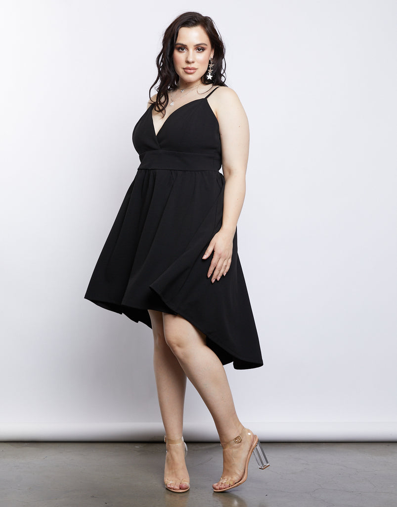 Curve All Nighter Dress Plus Size Dresses Black 1XL -2020AVE