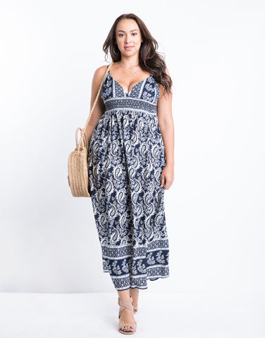 Plus Size Around The Way Maxi Dress