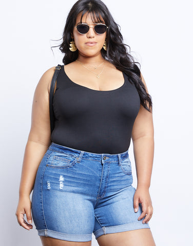 Plus Size Avery Sleeveless Bodysuit