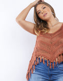 Plus Size Camilla Crochet Top