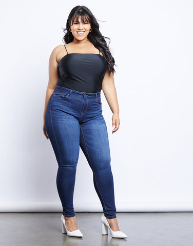 Plus Size Cara High Waisted Jeans