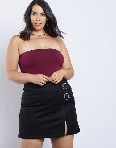 Plus Size Clair Strapless Bodysuit
