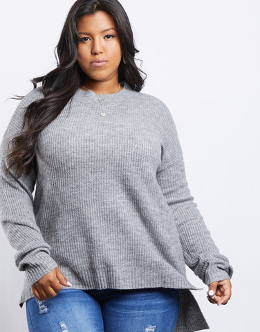 Plus Size Comfy Girl Sweater