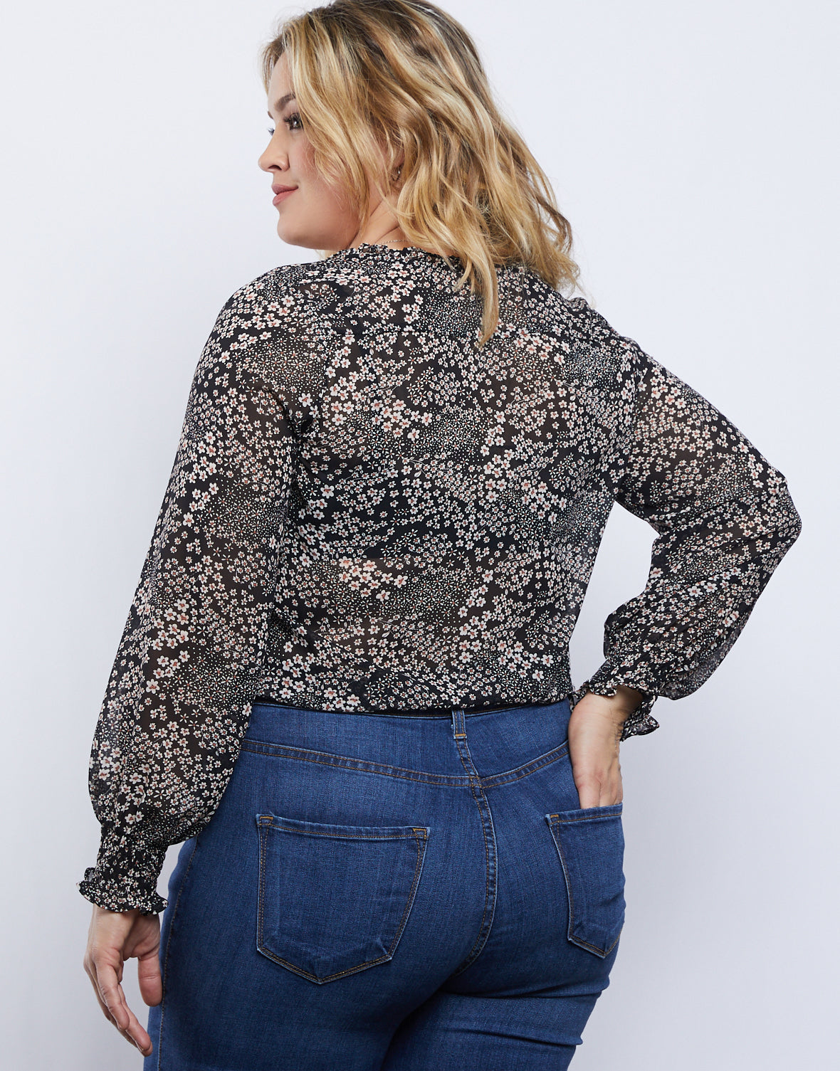 Plus Size Daisy Day Dream Top