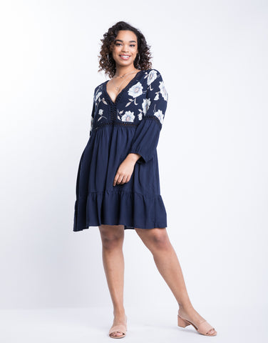 Plus Size Darling Floral Dress