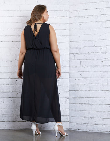 Plus Size Daydreaming Maxi Romper