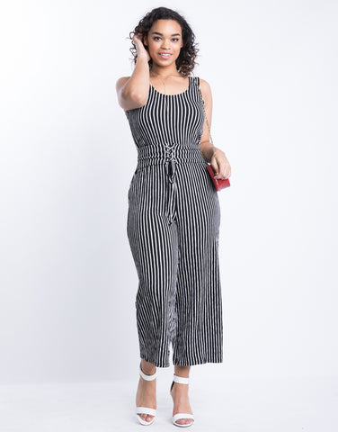 Plus Size Down The Line Jumpsuit