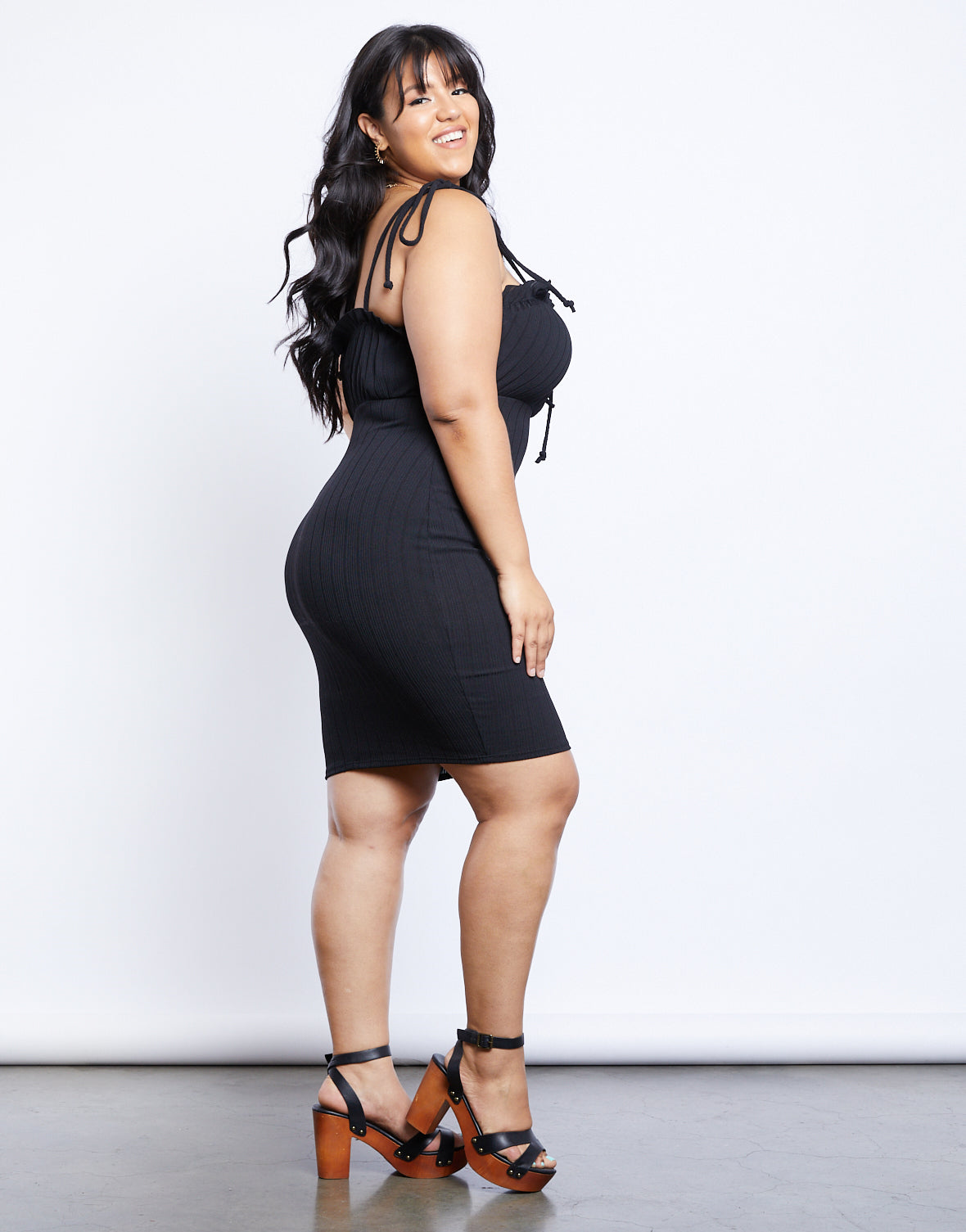 Plus Size Dream Girl Mini Dress