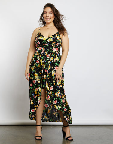Plus Size Floral Days Maxi Dress