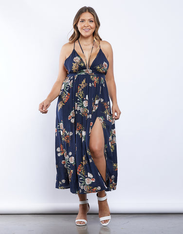 Plus Size Floral For Days Maxi Dress