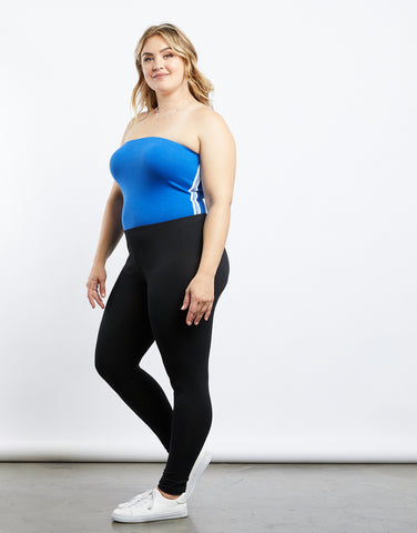 Plus Size Here And There Leggings