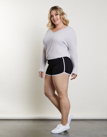 Plus Size Hit The Ground Running Shorts