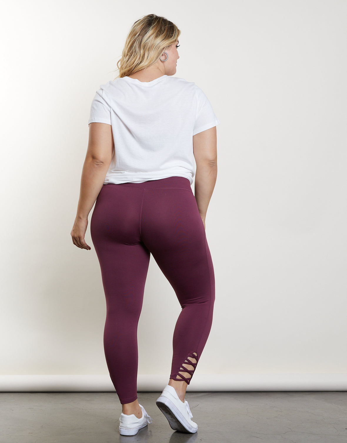Plus Size In The Zone Leggings
