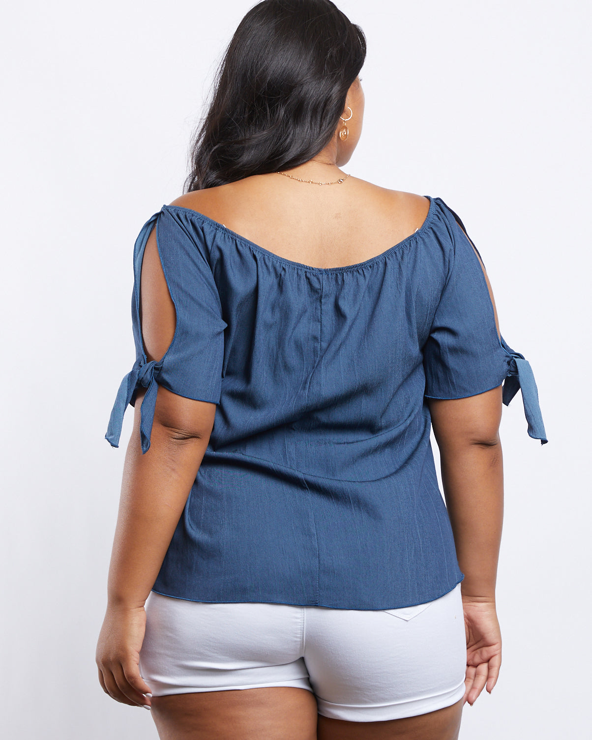 Plus Size Iris Off The Shoulder Top