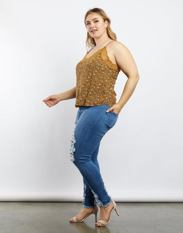 Plus Size Isabella Floral Cami