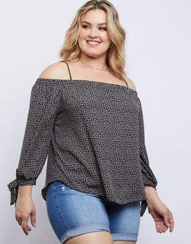 Plus Size Jane Off the Shoulder Top