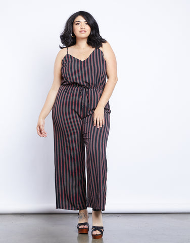 Plus Size Line Of Sight Jumpsuit