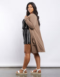 Plus Size Monica Knit Cardigan