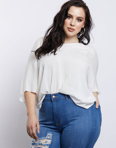 Plus Size On Cloud Nine Blouse
