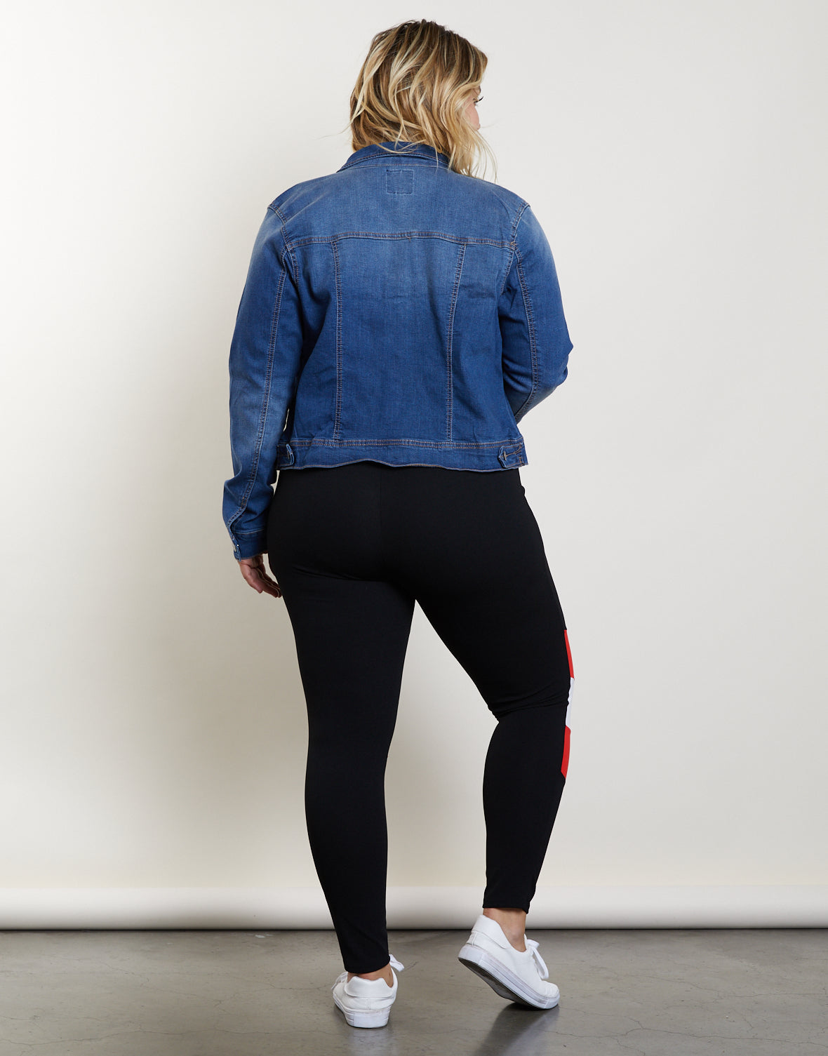 Plus Size On Track Leggings