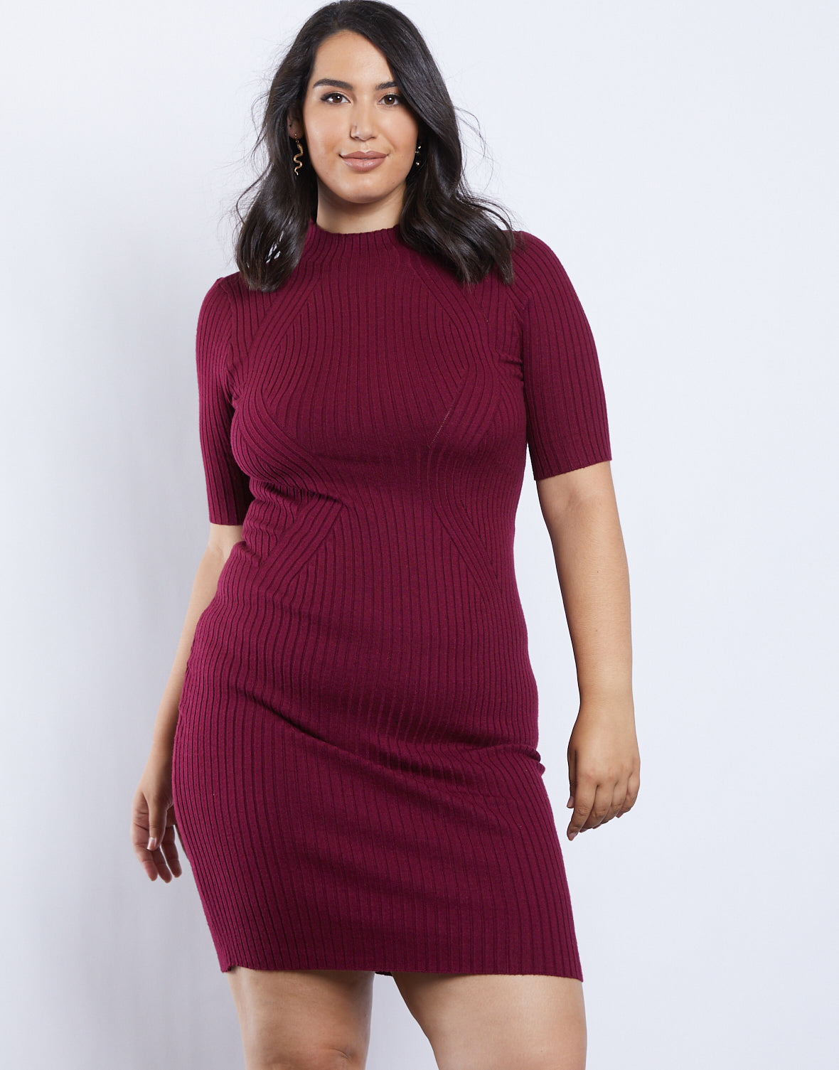 Plus Size Phoebe Sweater Dress