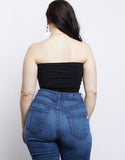 Plus Size Sadie Bandeau Tube Top