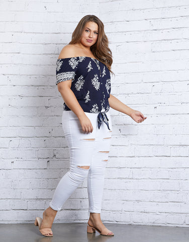 Plus Size Serena Top