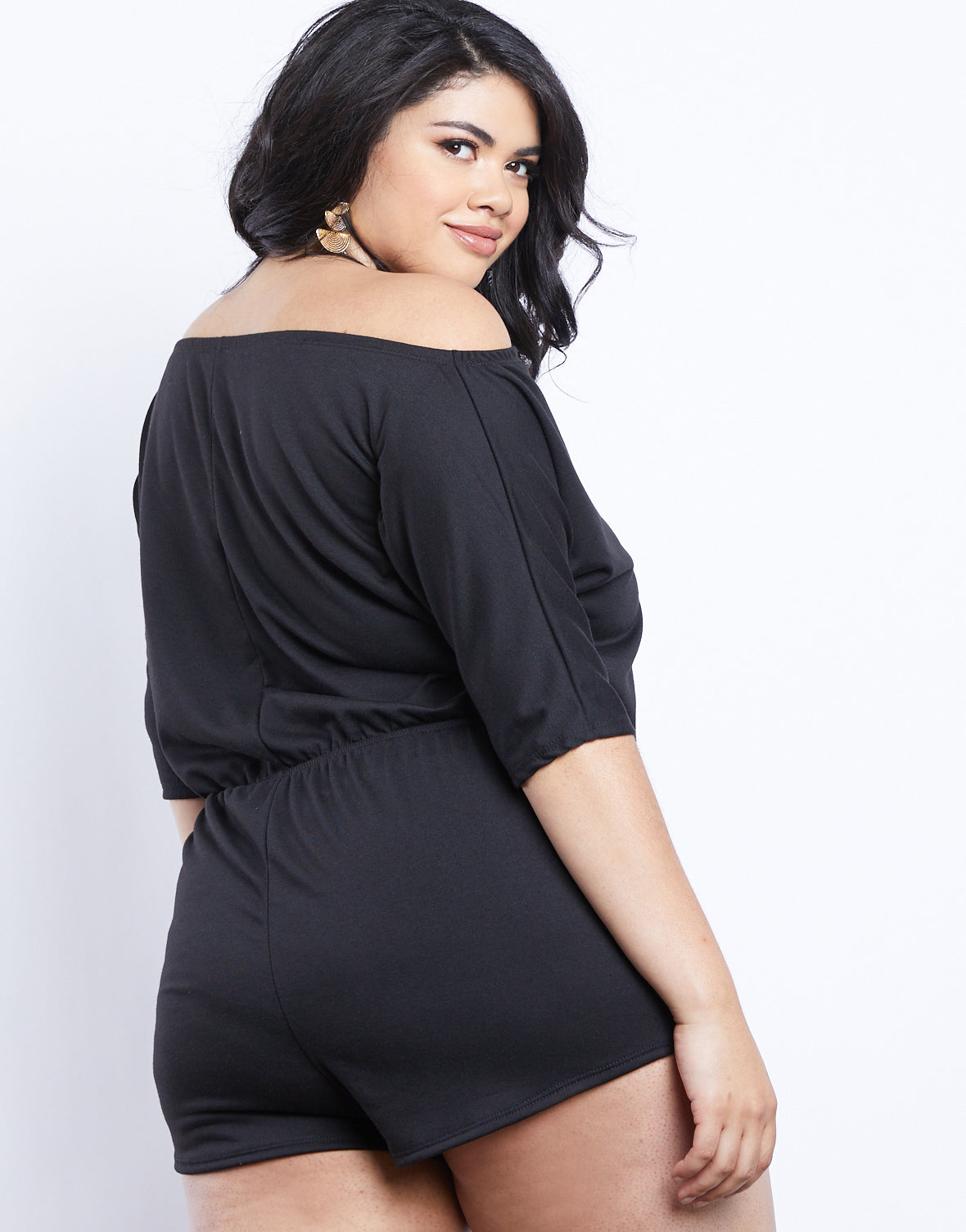 Plus Size Simple Summer Romper