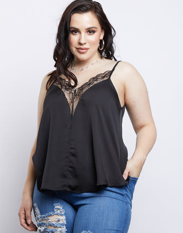 Plus Size Sleepless Nights Cami