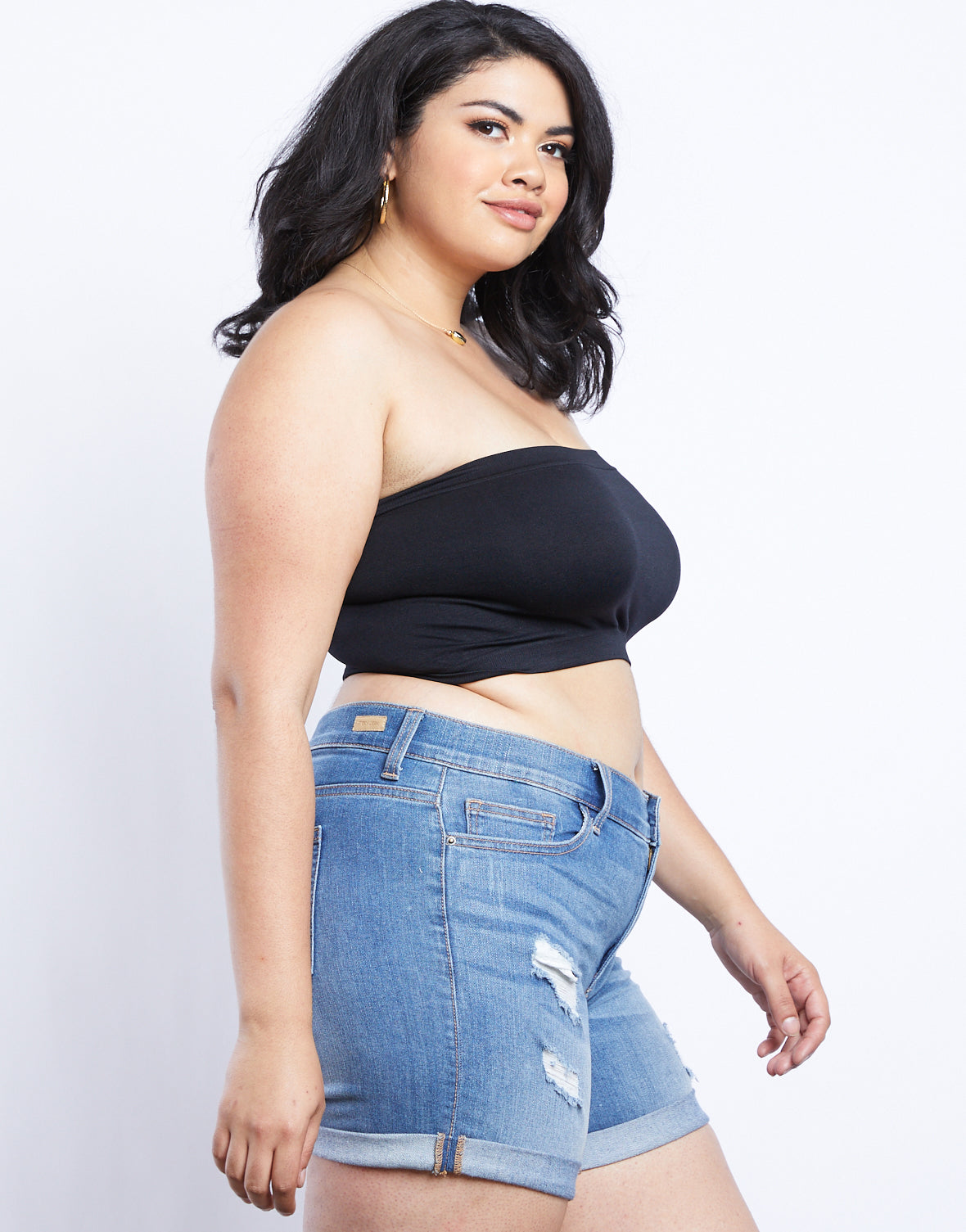 Plus Size Sweet And Simple Bandeau
