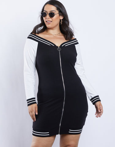 Plus Size Taylor Off-the-Shoulder Dress