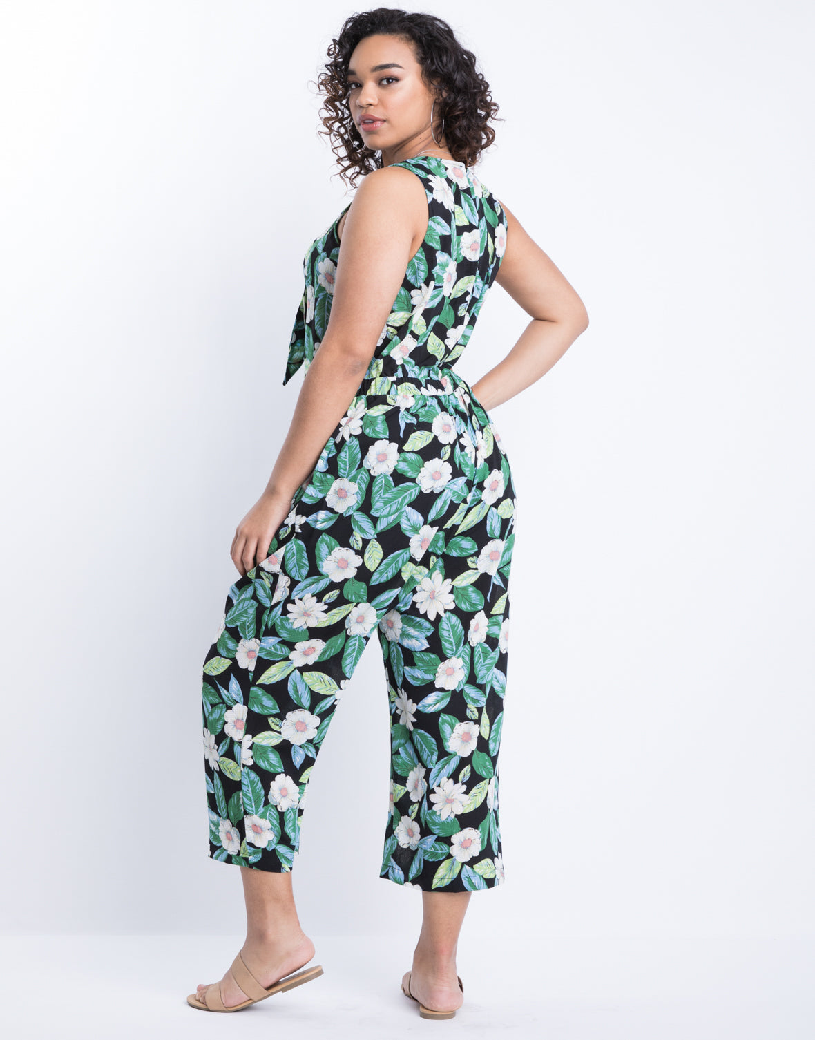 Plus Size Weekends Away Jumpsuit