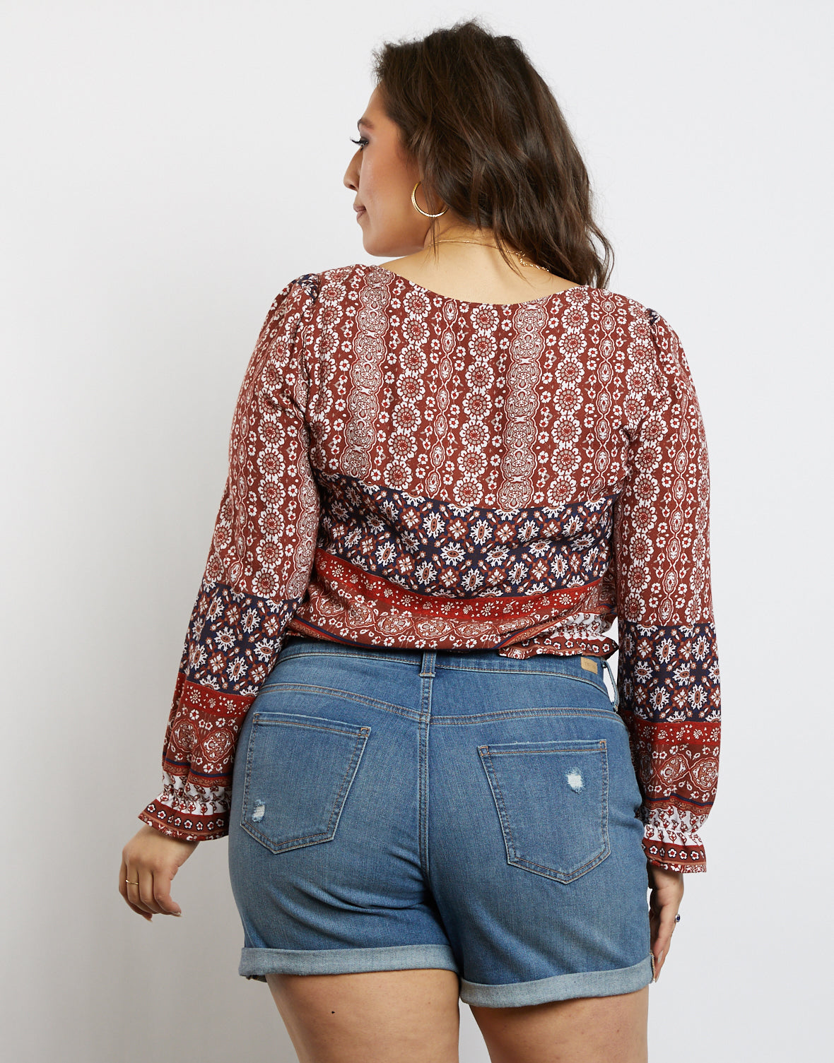 Plus Size Yours Truly Flowy Top